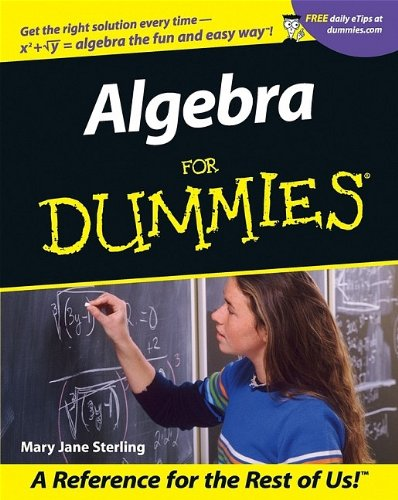 9780764553257: Algebra I for Dummies