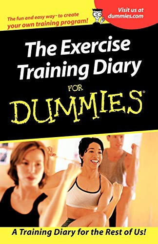 9780764553370: Exercise Training Diary for Dummies