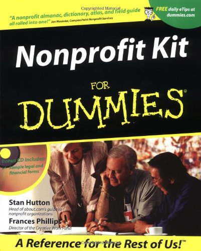 Nonprofit Kit For Dummies?: Stan Hutton, Frances