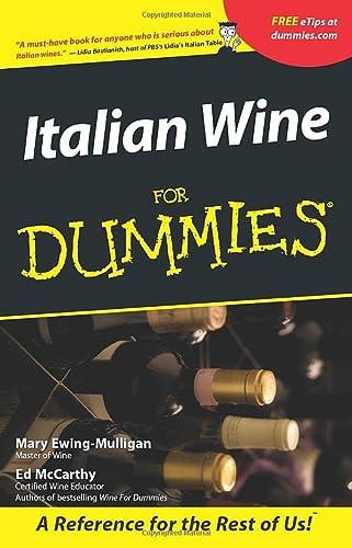 9780764553554: Italian Wine For Dummies