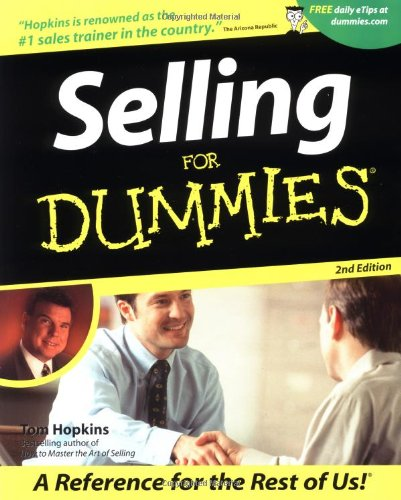 9780764553639: Selling for Dummies(r)