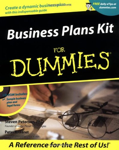 9780764553653: Business Plans Kit For Dummies (For Dummies (Computer/Tech))