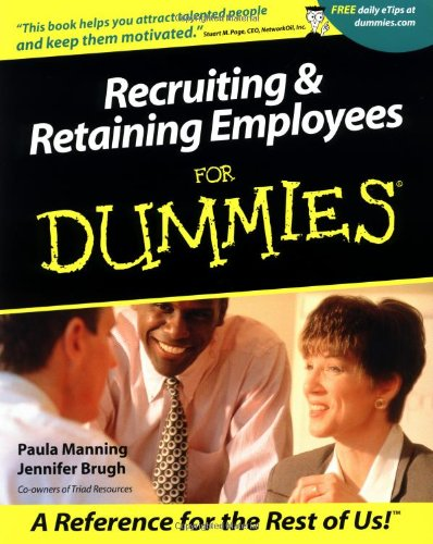 9780764553745: Recruiting & Retaining Employees For Dummies?