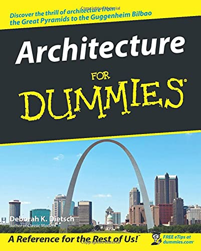 9780764553967: Architecture For Dummies