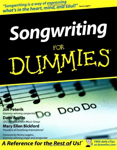 9780764554049: Songwriting for Dummies