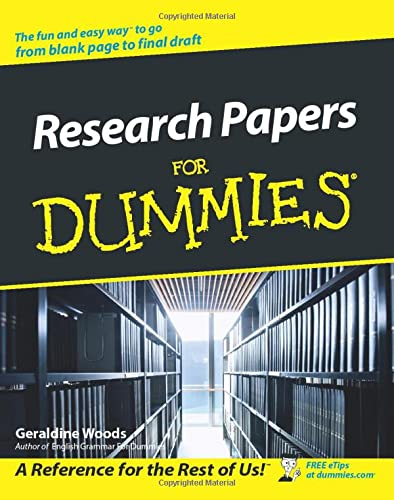 9780764554261: Research Papers For Dummies