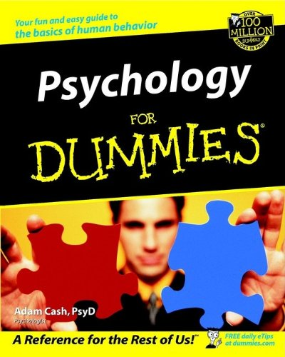 9780764554346: Psychology For Dummies