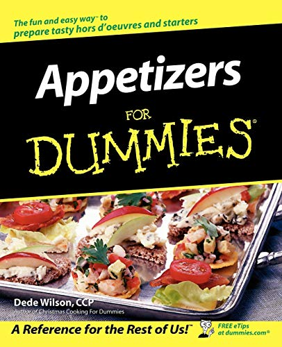 9780764554391: Appetizers For Dummies