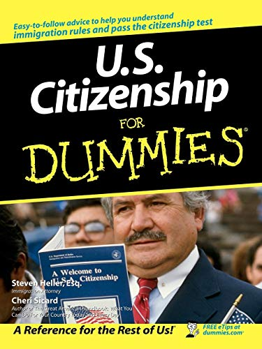 9780764554636: US Citizenship for Dummies