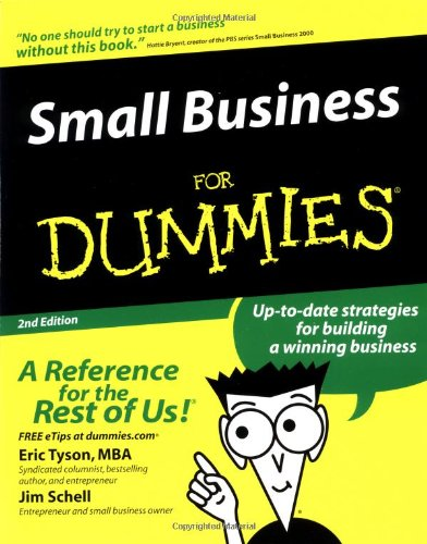 9780764554810: Small Business For Dummies
