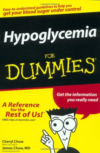 9780764554902: Hypoglycemia For Dummies (For Dummies (Health & Fitness))
