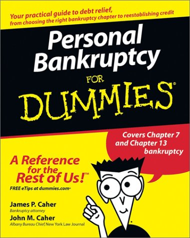 Personal Bankruptcy For Dummies (For Dummies (Lifestyles Paperback))