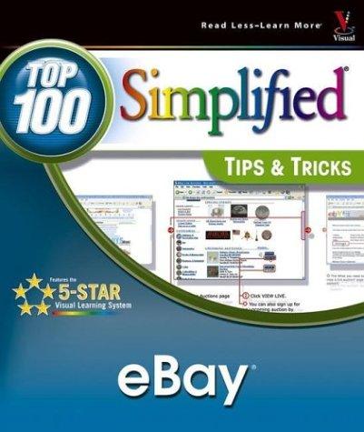 9780764555954: eBay: Top 100 SimplifiedTips & Tricks (Top 100 Simplified Tips & Tricks)