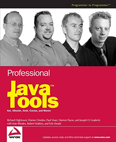9780764556173: Professional Java Tools for Extreme Programming: Ant, XDoclet, JUnit, Cactus, and Maven