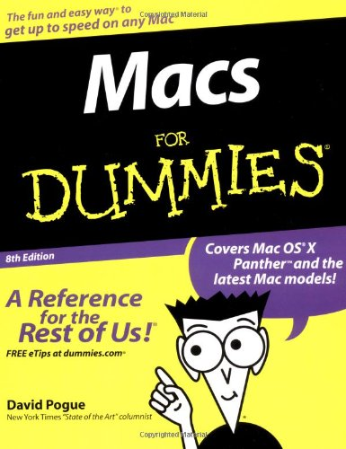9780764556562: Macs For Dummies (For Dummies (Computers))