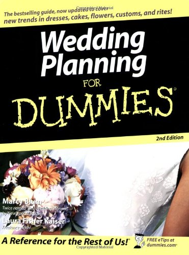 9780764556852: Wedding Planning For Dummies