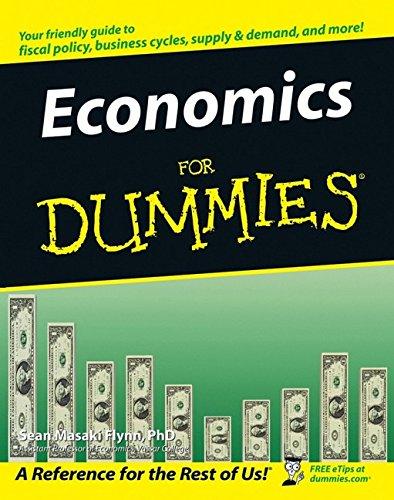 9780764557262: Economics For Dummies