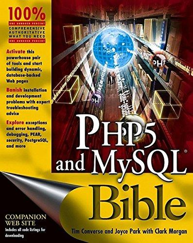 9780764557460: PHP5 and MySQL Bible