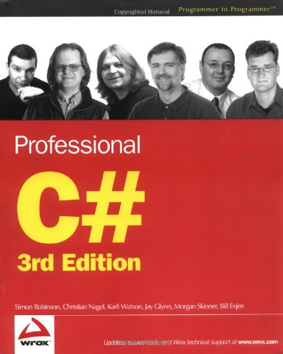 9780764557590: Professional C# (Programmer to Programmer)