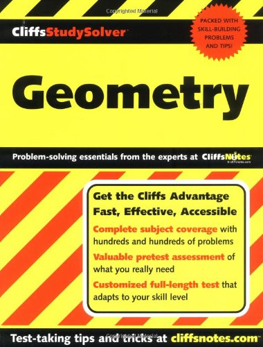 9780764558252: CliffsStudySolver Geometry