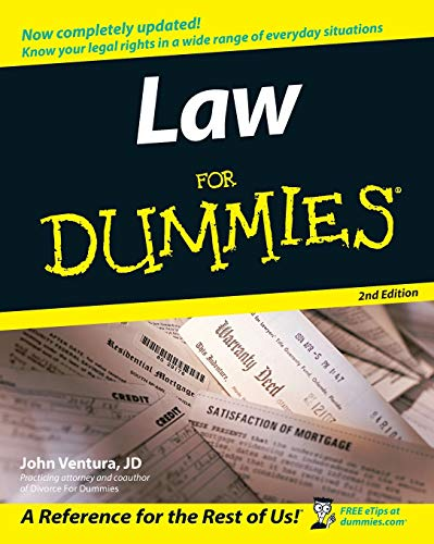 9780764558306: Law for Dummies 2nd Edition