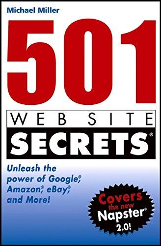 9780764559013: 501 Web Site Secrets: Unleash the Power of Google, Amazon, Ebay, and More
