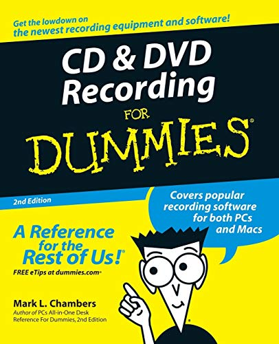 9780764559563: CD and DVD Recording For Dummies