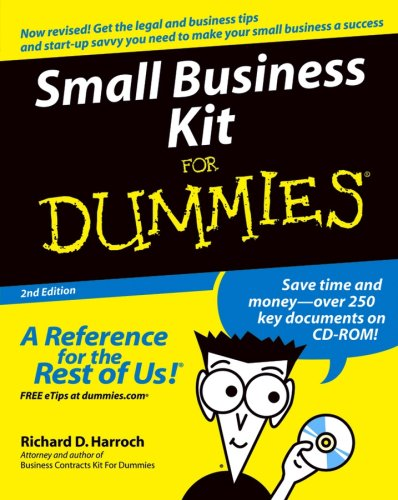 9780764559846: Small Business Kit For Dummies