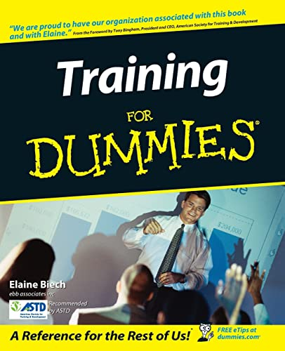 9780764559853: Training For Dummies