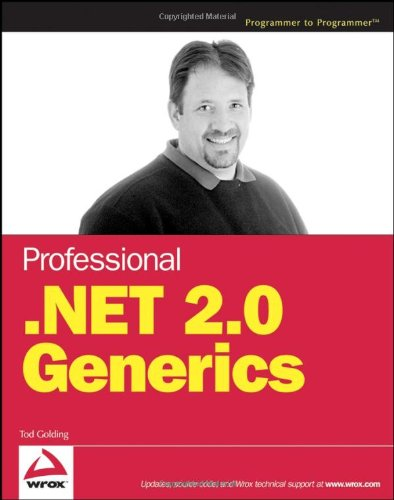 9780764559884: Professional .NET 2.0 Generics (Programmer to Programmer)