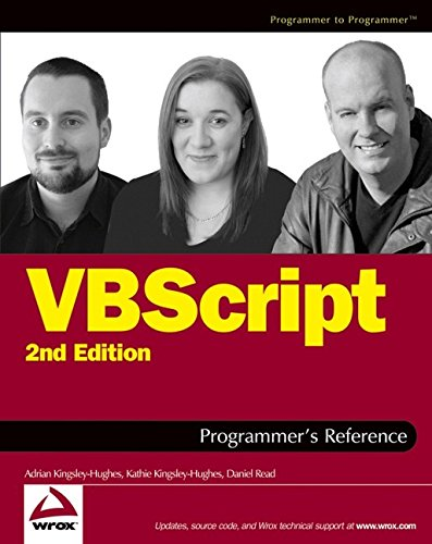 9780764559938: VBScript Programmer's Reference (Programmer to Programmer)