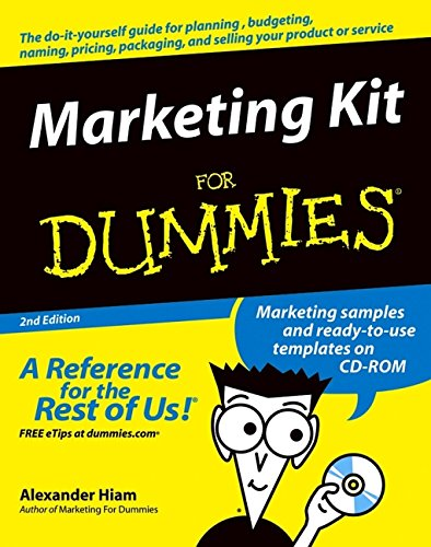 9780764559990: Marketing Kit For Dummies