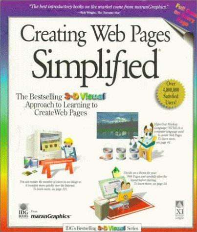 Creating Web Pages Simplified: Maran, Ruth;Whitehead, Paul;Marangraphics