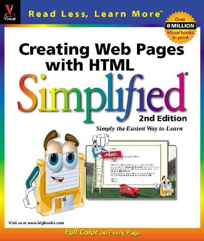 9780764560675: Creating Web Pages with HTML Simplified (Idg's 3-D Visual Series)