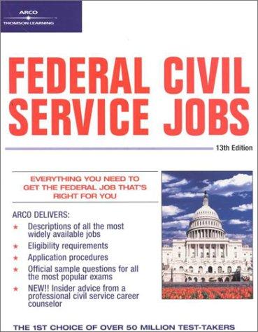 9780764561078: Federal Civil Service Jobs, 13/e (Federal Civil Service Jobs, 13th ed)