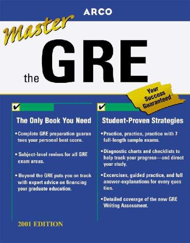 Master the Gre Cat 2001 (Master the Gre, 2001) (0764561197) by Martinson, Thomas H.