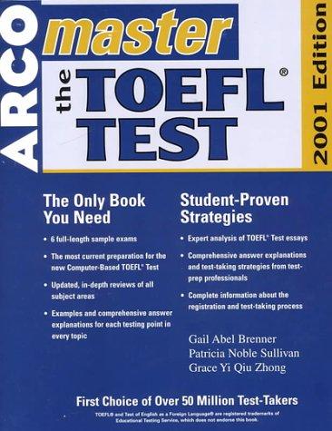 9780764561221: Arco Master the Toefl Test 2001 (Master the Toefl, 2001)