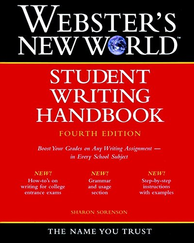 9780764561252: Webster's New World Student Writing Handbook