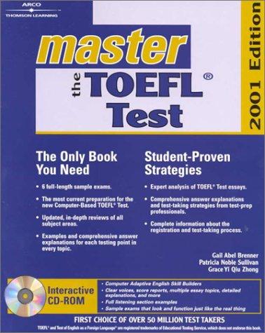 9780764561467: Master the Toefl Test 2001 (Arco Master the TOEFL (W/CD))