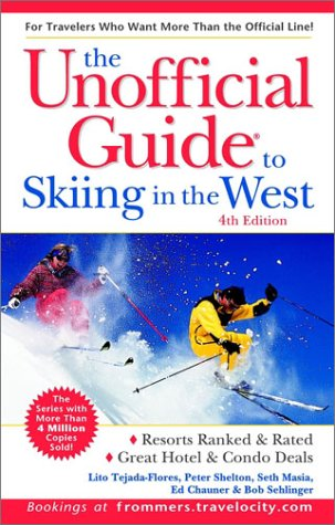 9780764562198: The Unofficial Guide to Skiing in the West (Unofficial Guides)
