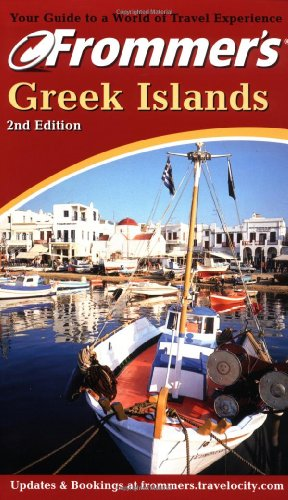 9780764562662: Frommer's Greek Islands