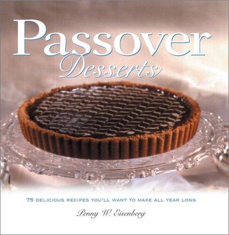 9780764563225: Passover Desserts (Cooking/Gardening)