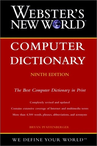 9780764563256: Webster's New World Computer Dictionary