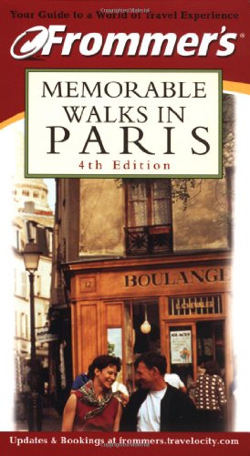 9780764563300: Frommer's Memorable Walks in Paris