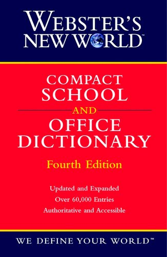 9780764563386: Webster's New World Compact School and Office Dictionary