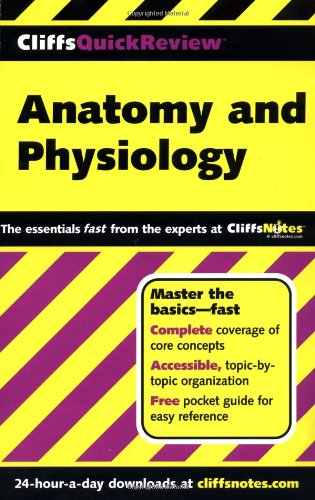 9780764563737: CliffsQuickReview Anatomy and Physiology