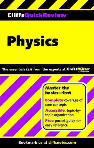 9780764563836: CliffsQuickReview Physics