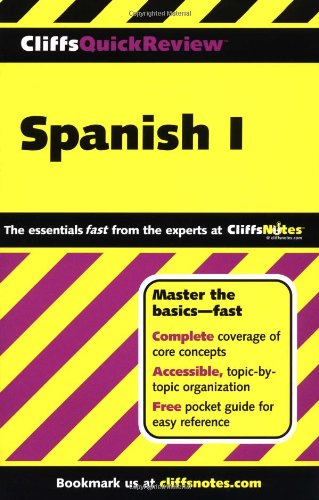9780764563874: CliffsQuickReview Spanish I