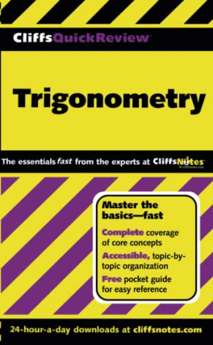 9780764563898: Trigonometry (Cliffs Quick Review)