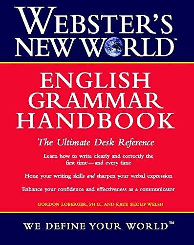 9780764564888: Webster's New World English Grammar Handbook